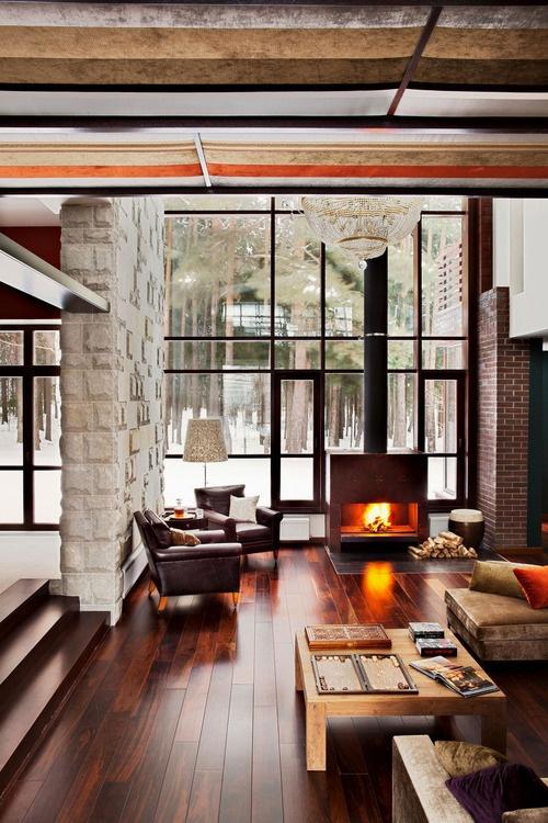 Living Room Home Design - 3