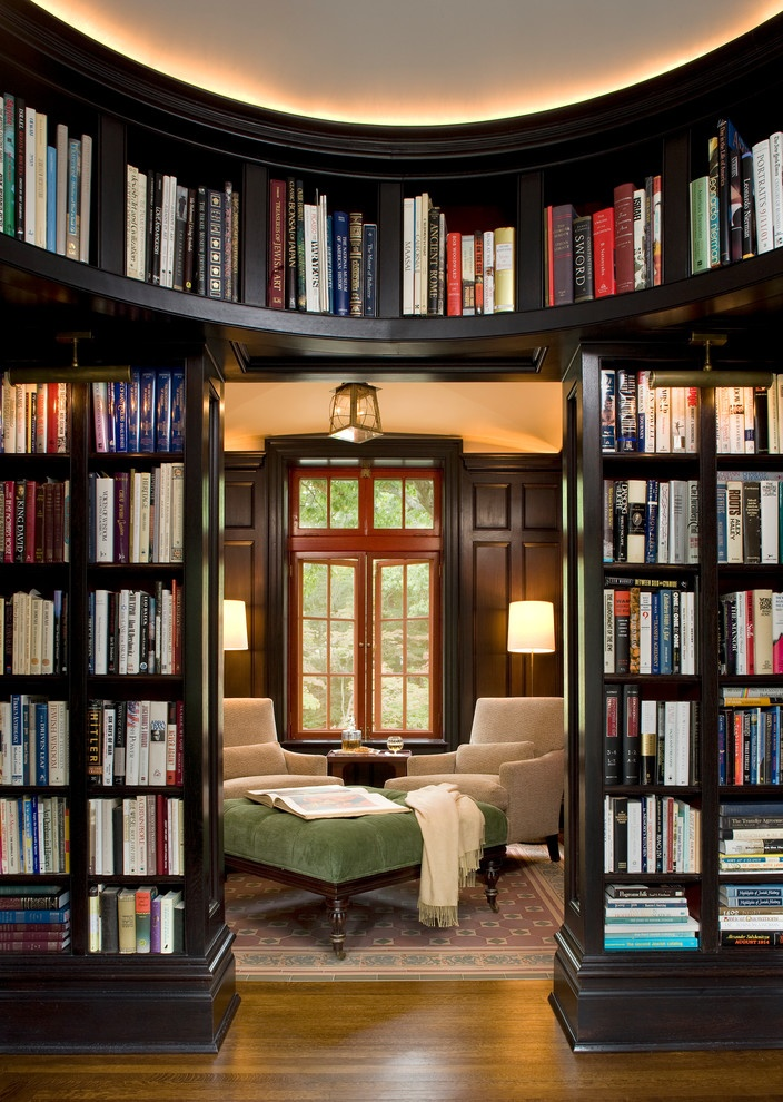Library Home Design Inspiration 1