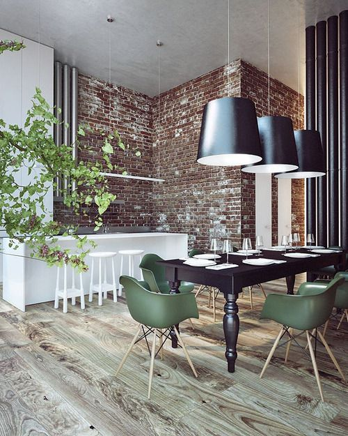 Modern Contemporary Urban Design Kitchen Room Dining: Home Design Inspiration For Your Dining Room