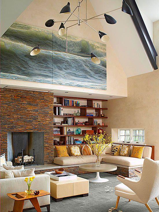 Living Room Home Design Inspiration 21