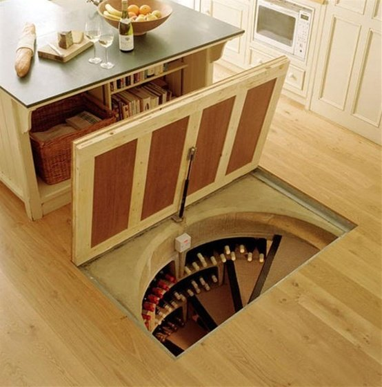 attic powder room ideas - The Road Not Taken 14 Amazing Secret Passageways