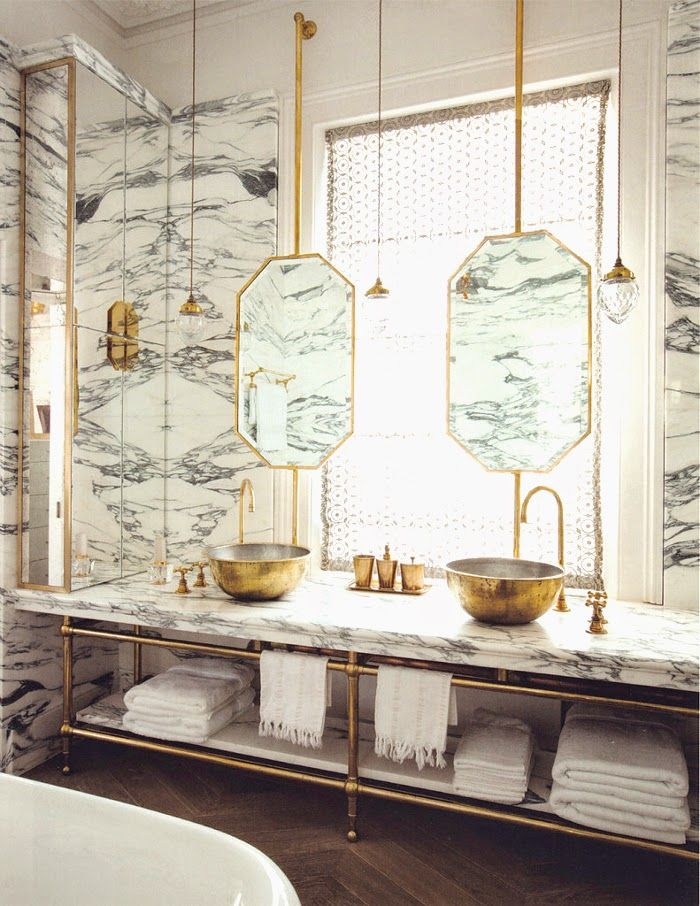 double vanity bathroom design inspiration