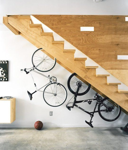 bicycle storage idea