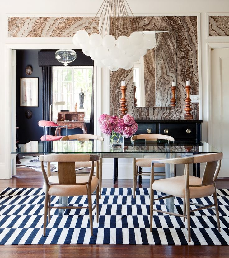 Bold Room Designs: Bold Dining Room Design