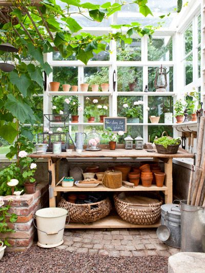 garden workspace design