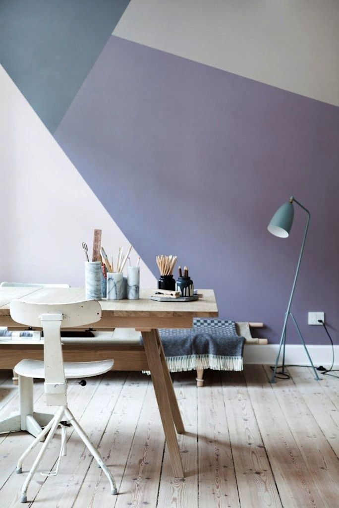 geometric workspace design inspiration