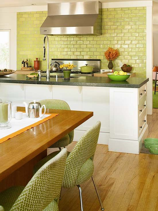 green kitchen design inspiration