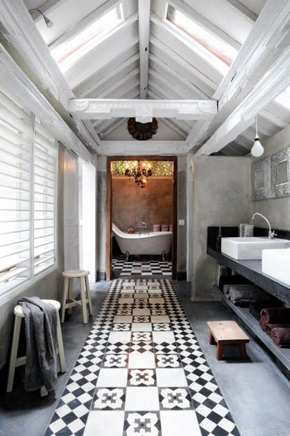 inviting bathroom design