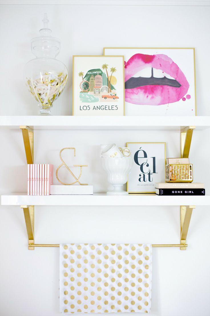 Glam Bathroom Decor Homedesignboard