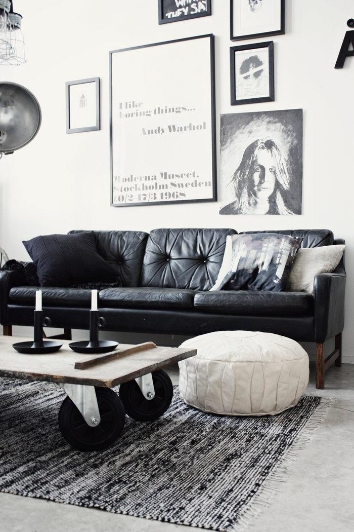 Black And White Living Room Design Inspiration