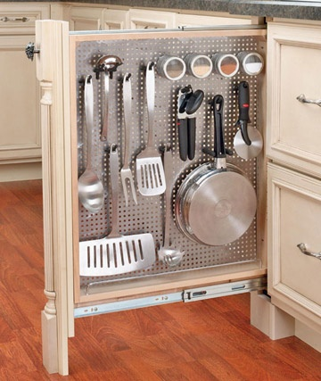 Clever Kitchen Storage Idea