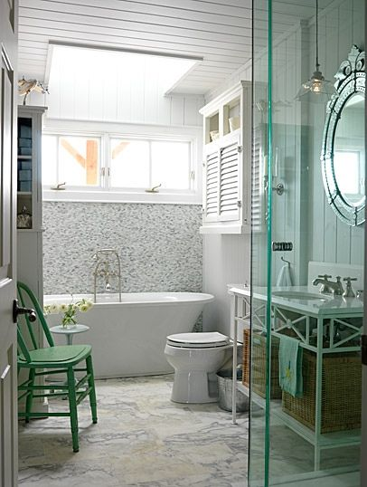 Cottage Bathroom Design