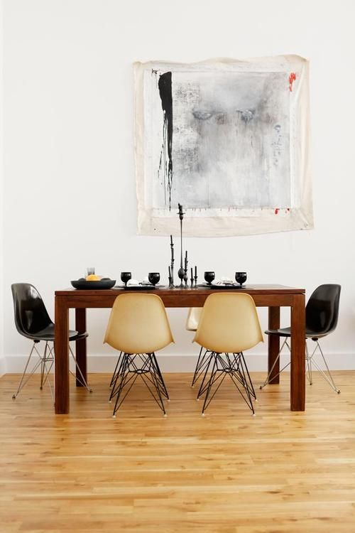 Dining Room Design with Eames Chairs