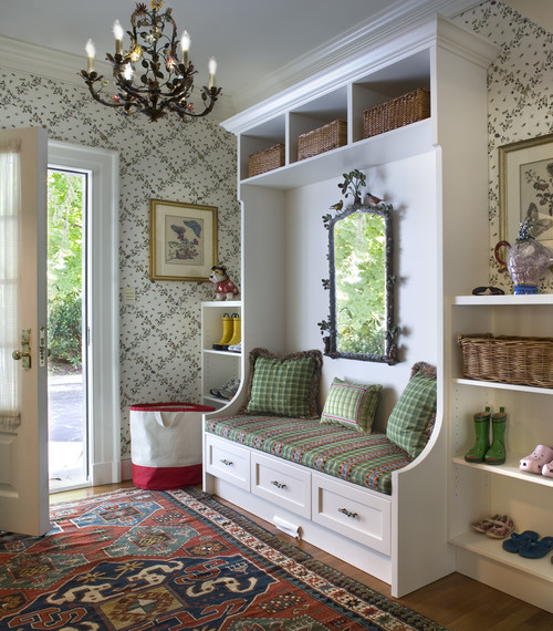 Eclectic Entry Way Design Inspiration