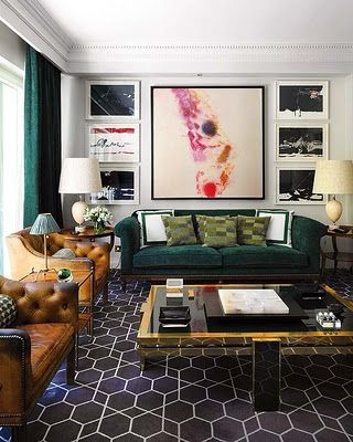 Eclectic Living Room Design Inspiration | HomeDesignBoard