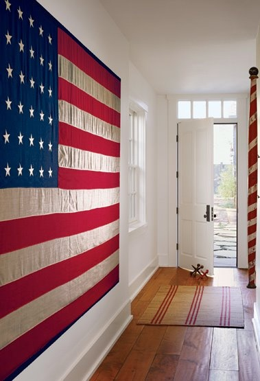 Patriotic Entryway Design