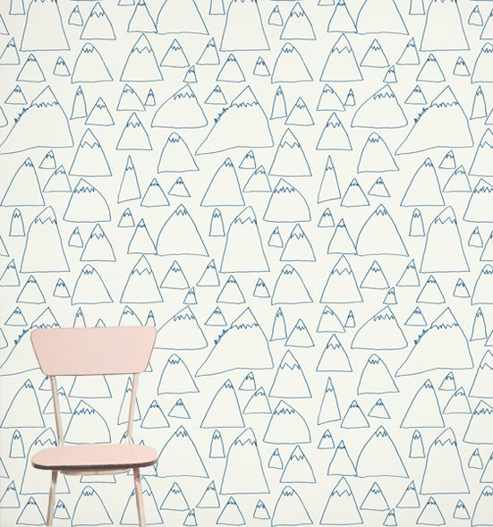Kid's Hallway Wallpaper Design