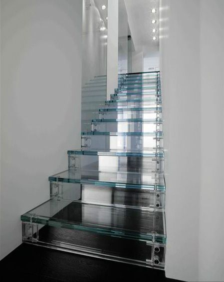 Glass Staircase Design Inspiration