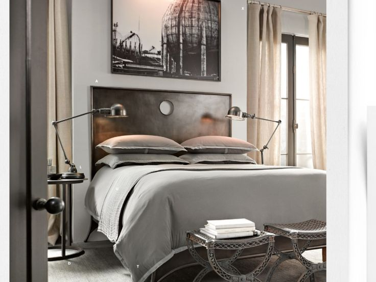 Grey And 1800 S Inspired Bedroom Design Homedesignboard