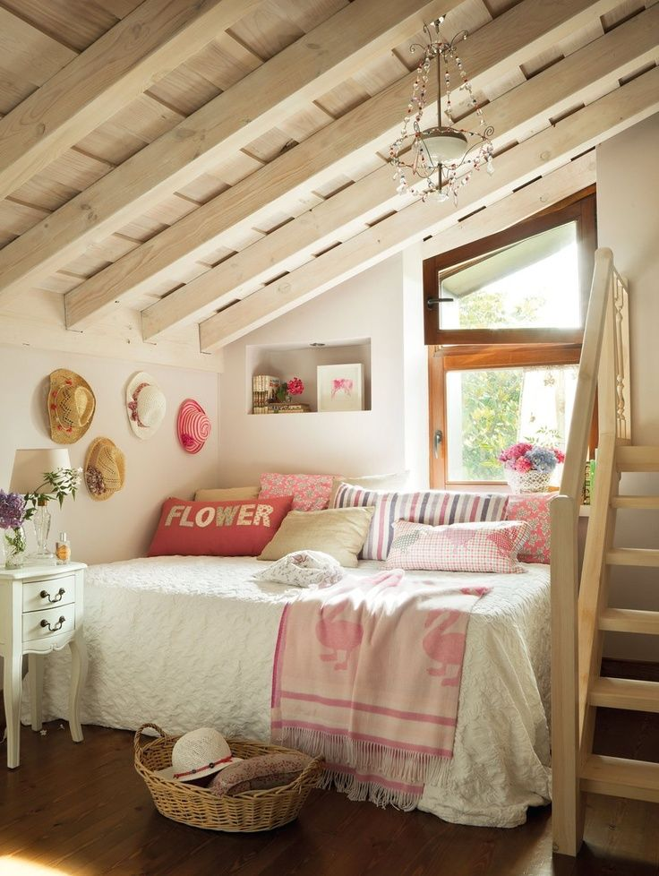 Attic Kids Room Design