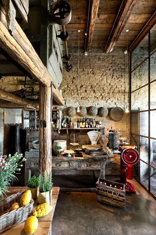 Earthy Kitchen Design Inspiration