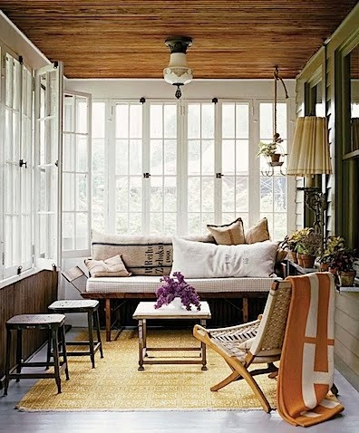 Eclectic Vintage Living Room