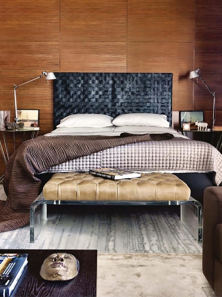 Masculine Bedroom Design Inspiration
