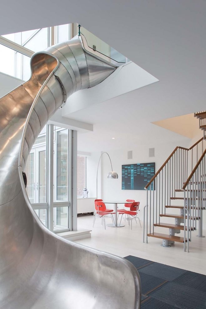 Metal Sliding Staircase Inspiration