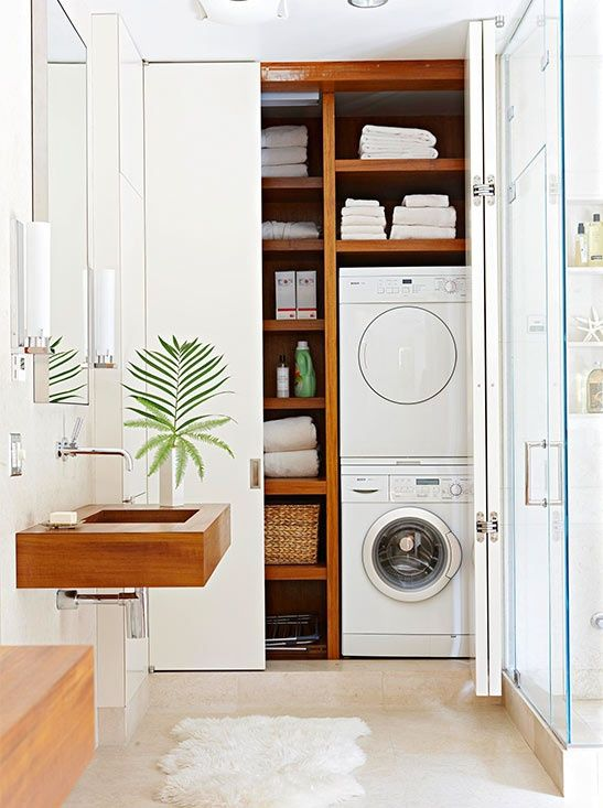 Modern Laundry Room Inspiration | HomeDesignBoard