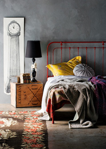 More Industrial Bedroom Design Inspiration