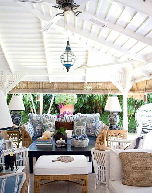 Beachy Outdoor Space