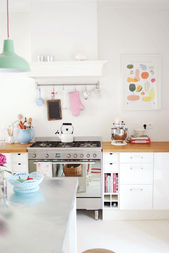 Pastel Kitchen Design
