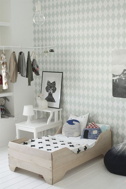 Pattern Filled Nursery Design Inspiration