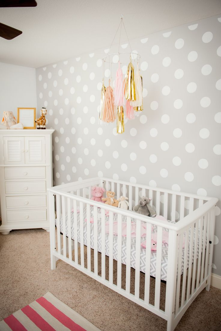 polka dot nursery design inspiration homedesignboard