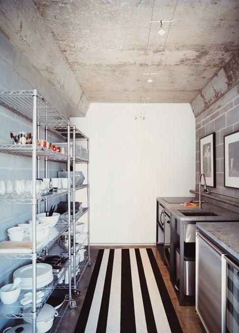 Shotgun Style Kitchen Design Homedesignboard