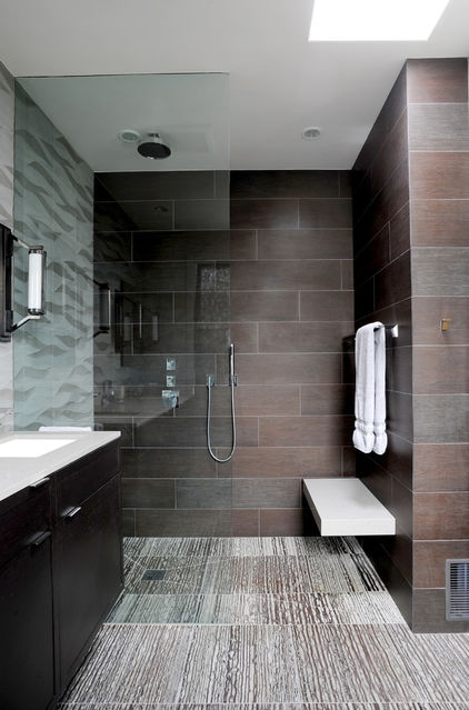 Sleek and Contemporary Bathroom Design Inspiration