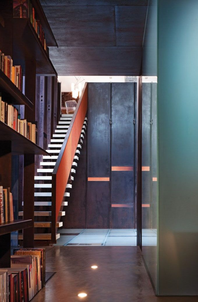 Floating Staircase Design Homedesignboard