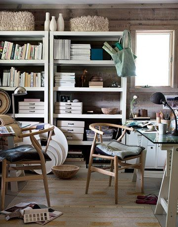 Two Person Workspace Design Inspiration