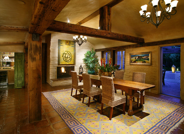 southwest inspired dining room southwest inspired dining room southwest inspired dining room: new mexico home decor