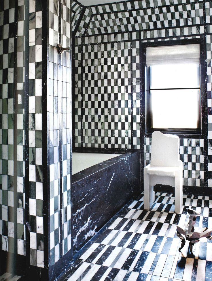 Beautiful Black And White Marble Tile