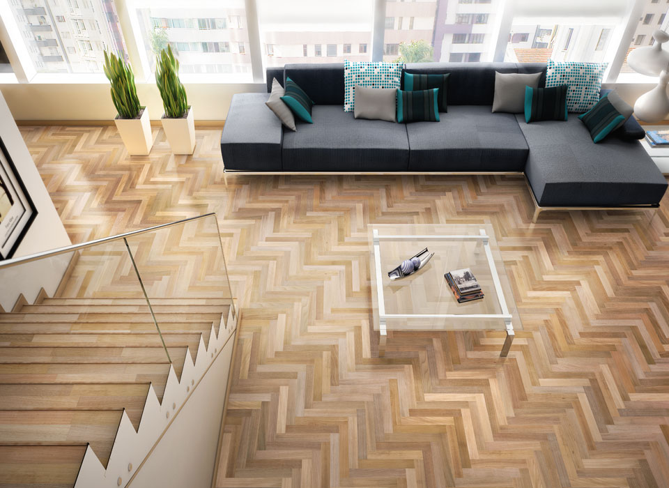 S Parquet Kitchen Floor