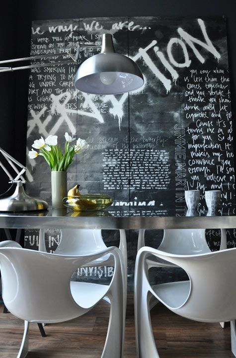 Edgy Dining Room Design Inspiration