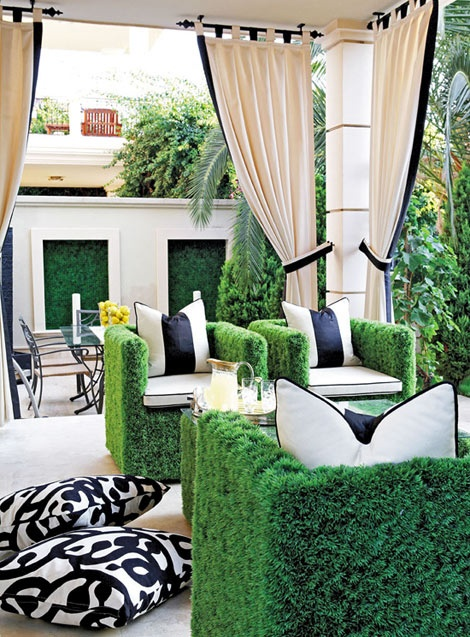 Kitschy Outdoor Space
