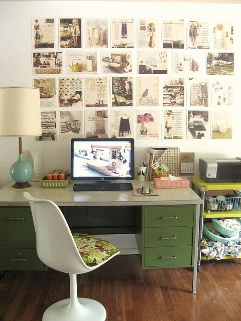 Midmod Fashionista Workspace