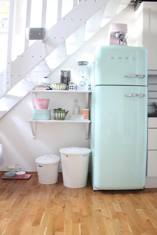 Mod Mint Refrigerator