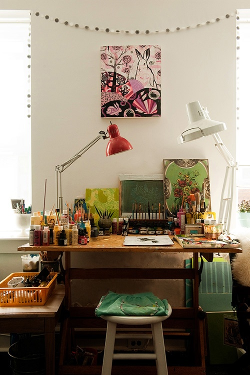 Organized Workspace Homedesignboard