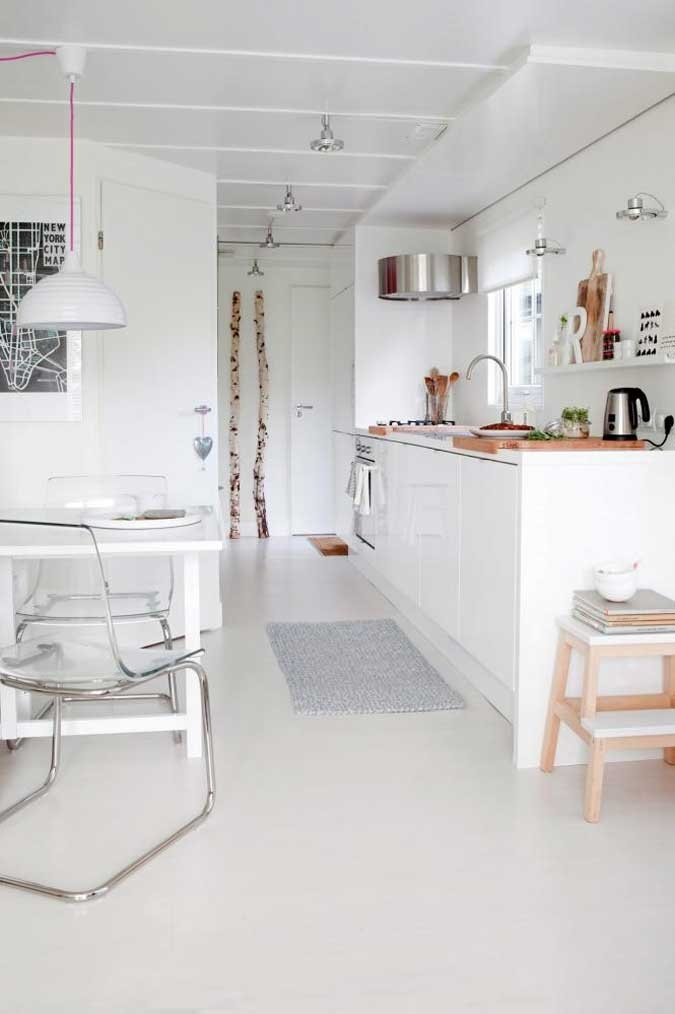 White Modern Kitchen Inspiration