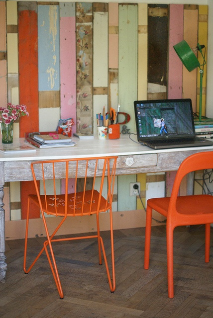 Colorful Workspace Design