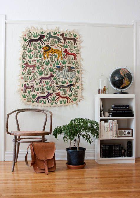 Animal Printed Wall Hanging