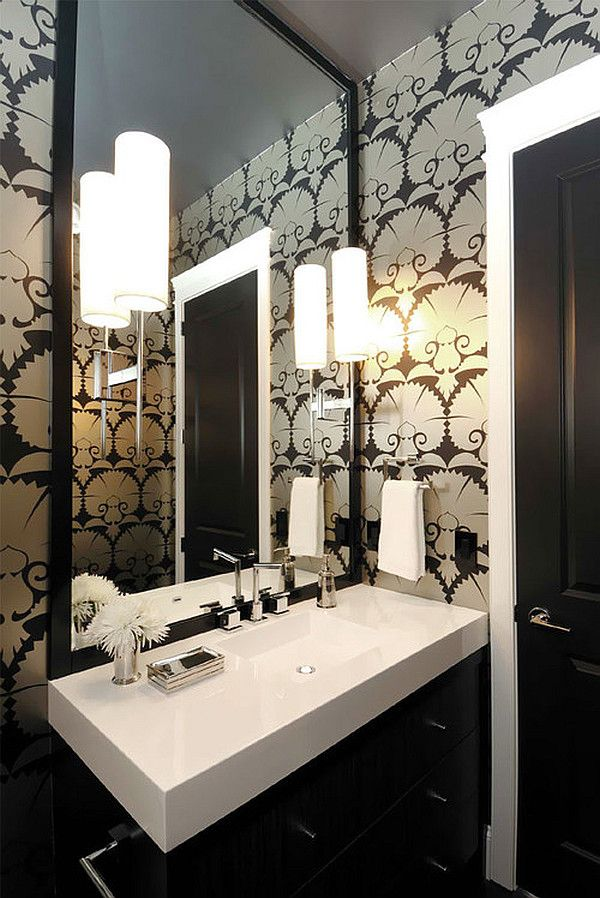 Chic Black and White Wallpaper